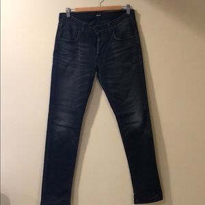 Hudson Blake Slim Straight Stretch Jeans